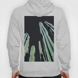 Green Cactus 8 at Night Hoody