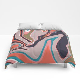 Marbleized II Comforters
