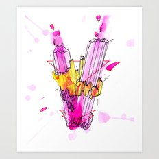Sublimation Art Print