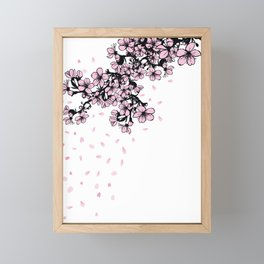 Sakura Cherry Blossom Framed Mini Art Print