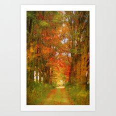 the way to paradise Art Print