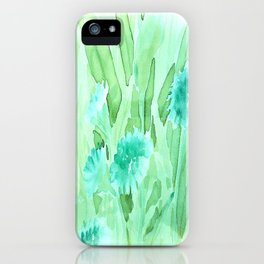 Soft Watercolor Floral iPhone Case