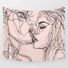 kiss more often Wall Tapestry