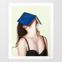 Art Prints featuring Books by Carlos ARL