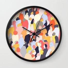 Crowded Wall Clock