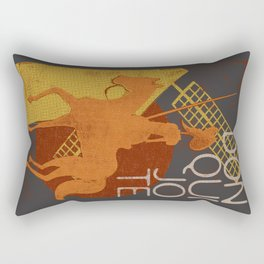Books Collection: Don Quixote Rectangular Pillow