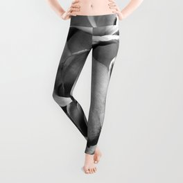 Calla Lilies floral black and white photography / photographs Leggings