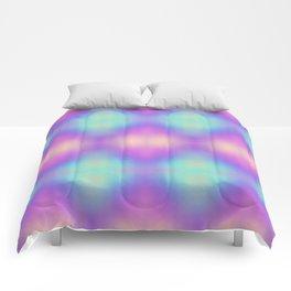 Gradient background design Comforters