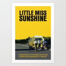 Little Miss Sunshine Movie Poster Art Print