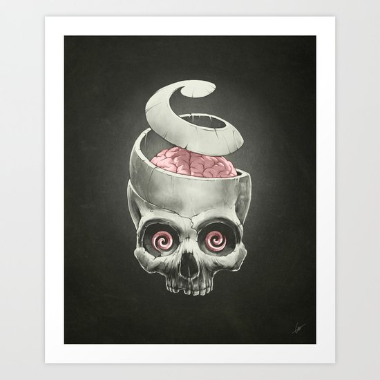 Open Your Mind! Art Print