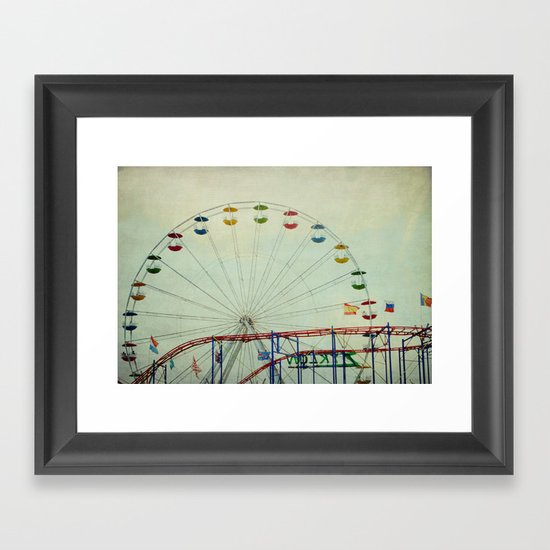 Ride On Framed Art Print