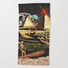 Once a Fertile Land Beach Towel