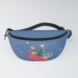 Laika Christmas Fanny Pack