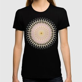 Gold Rose Mandala T-shirt