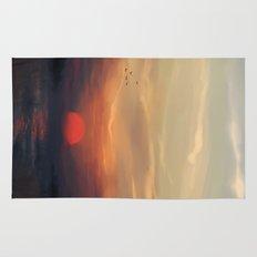 Red Sun Rug