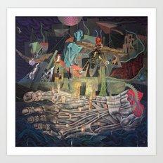The Very Extraordinary Voyage Art Print
