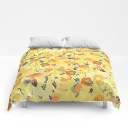 Daffodil Fields Comforters
