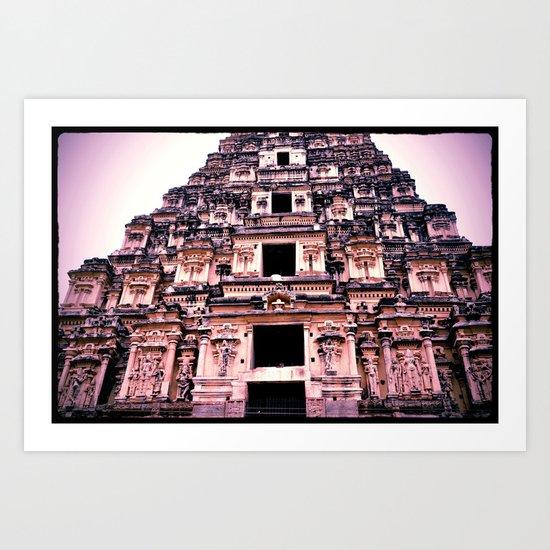 Central Temple of Hampi Art Print
