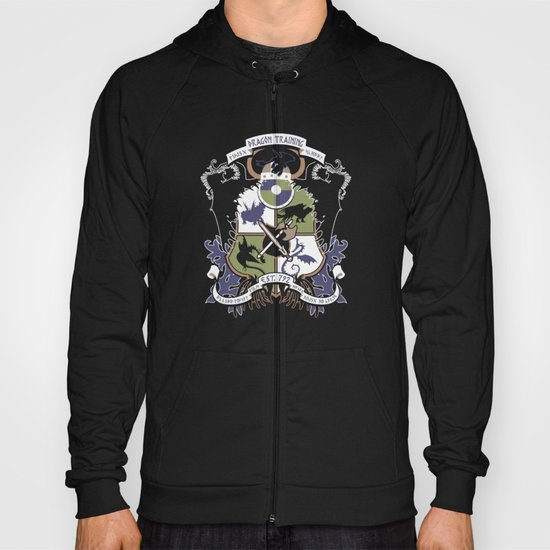 Dragon Training Crest - How to Train Your Dragon Hoody