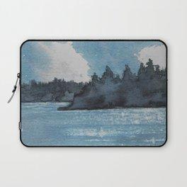 Moonlit Lake Laptop Sleeve