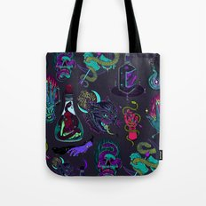 Neon Demons Tote Bag