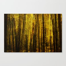 Forest Fuzz Canvas Print