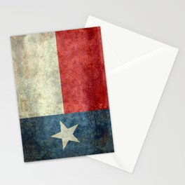 Texas flag Stationery Cards