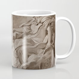 """Follower of François Boucher """"An allegorical subject, possibly the Triumph of Minerva"""" Coffee Mug"""