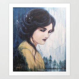 Temperance - Tarot Card Art Art Print