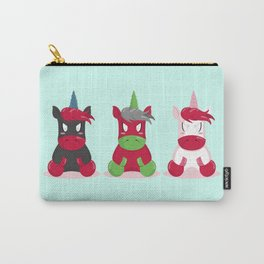 Angry Unicorns Carry-All Pouch