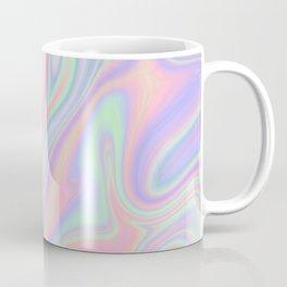 Liquid Colorful Abstract Rainbow Paint Coffee Mug