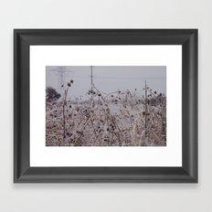 Clear Framed Art Print
