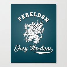 Dragon Age - Ferelden Grey Wardens Canvas Print