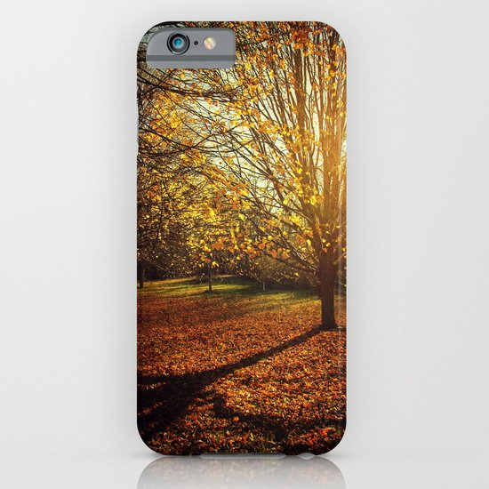 Autumn Gold iPhone & iPod Case