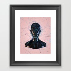 A Calm Prison World Framed Art Print