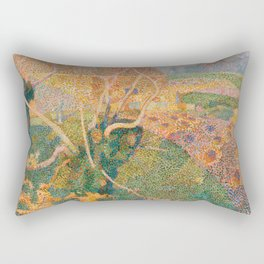Jan Toorop, Novemberzon, 1888 Rectangular Pillow