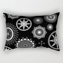 Dark into the night Rectangular Pillow