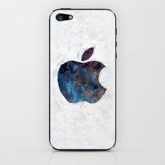Painted Apple iPhone & iPod Skin