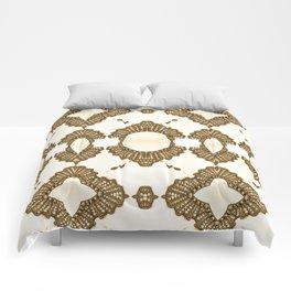 Golden Decent Comforters