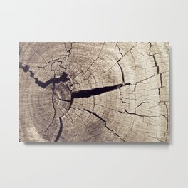 Cracks in Time - Photography #Society6 Metal Print