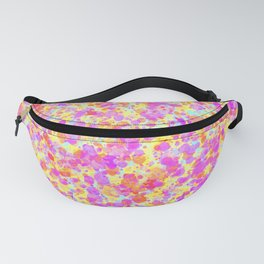 Splattered Pastel Watercolour Paint Look Fanny Pack