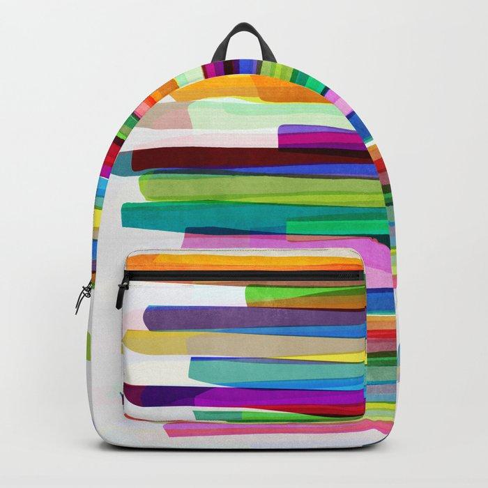 Colorful Stripes 1 Rucksack