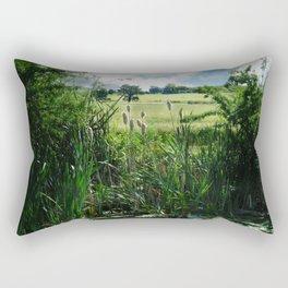 Summer Abundance Rectangular Pillow