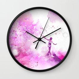 Dances on Water Wall Clock