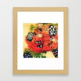 Strawberries Gerahmter Kunstdruck