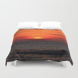 so sunset! Duvet Cover
