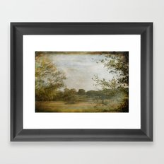 A Walk in the Country Framed Art Print