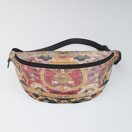 Esfahan Central Persian 17th Century Fragment Fanny Pack