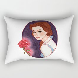 Belle - Beauty and the Beast Rectangular Pillow