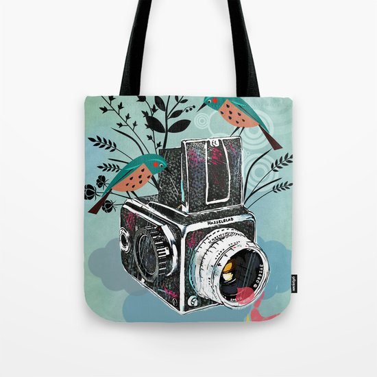Vintage Camera Hasselblad Tote Bag
